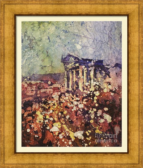 Ryan Fox - Fields of Flower- And Rom... Print