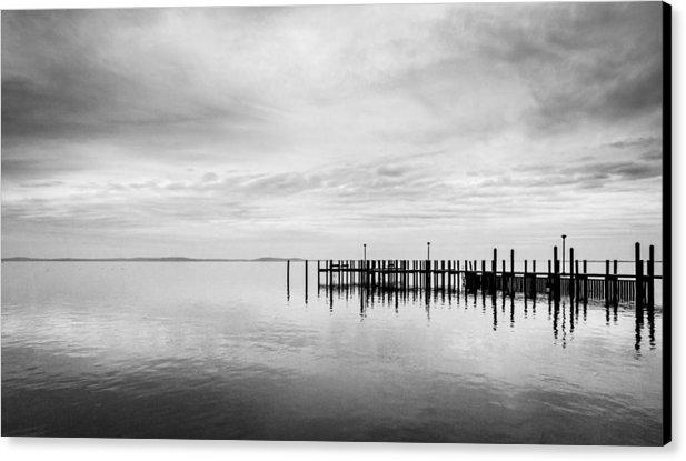 Will Castro - Havre De Grace Pier Print