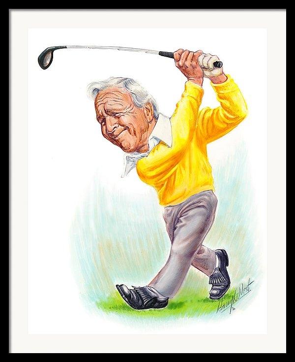Harry West - Arnie Print