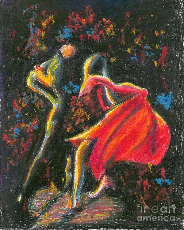 Tatiana Chernyavskaya - Tango. 27 March, 2015 Print