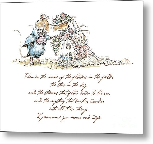 Brambly Hedge - I pronounce you mouse and... Print