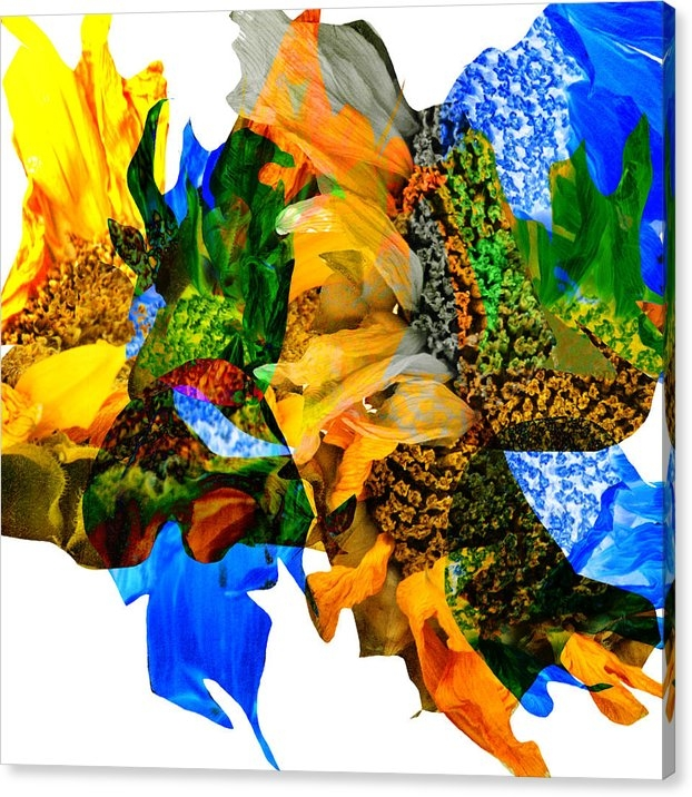 James Bethanis - Abstract Sunflowers No 42... Print