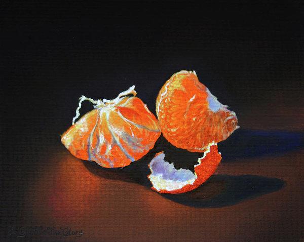 Rebecca Giles - Glowing Mandarin  Print
