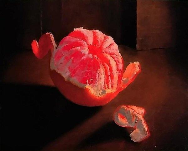 Rebecca Giles - Peeled Grapefruit Print