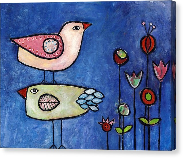 Susie Lubell - Two Birds Print