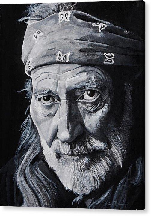 Brian Broadway - Willie  Print