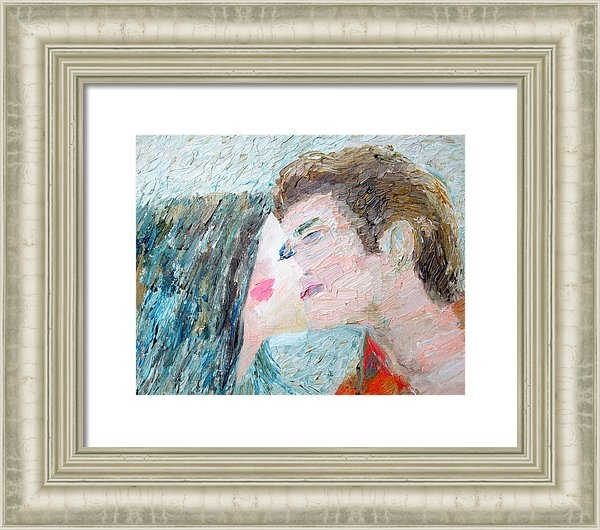 Fabrizio Cassetta - Two Lovers Kissing Print