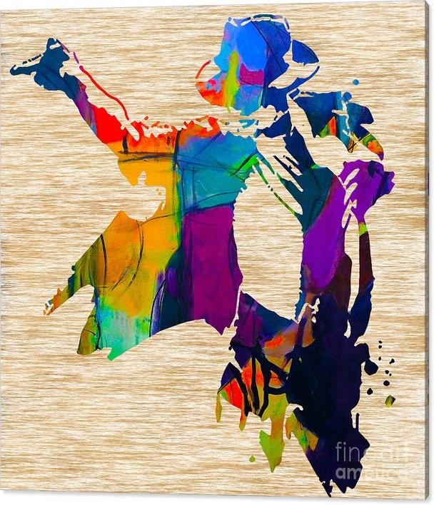 Marvin Blaine - Michael Jackson Print