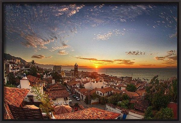 Shanti Gilbert - Puerto Vallarta Sunset Print