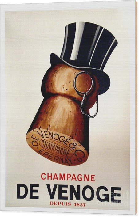 Mindy Sommers - Vintage Champagne Print