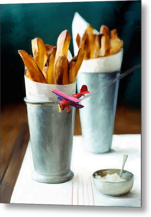 Snake Jagger - French Fries Fly-By Print