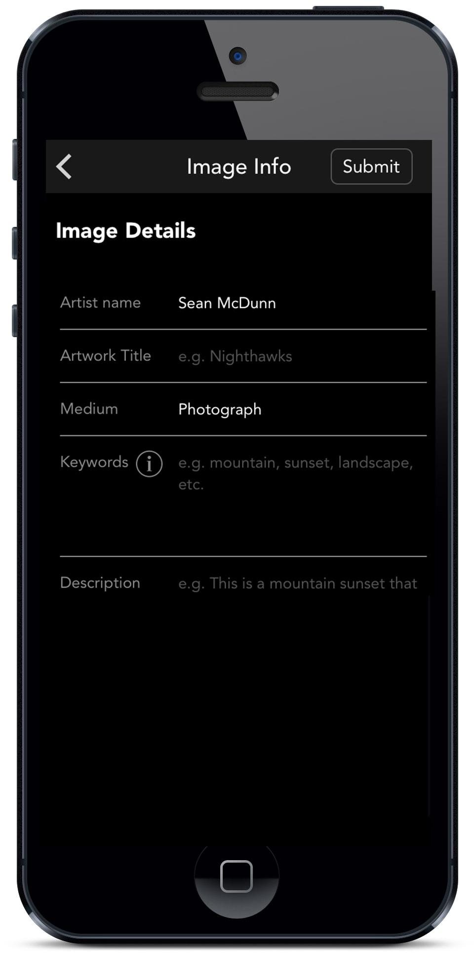 Mobile App Screen Capture