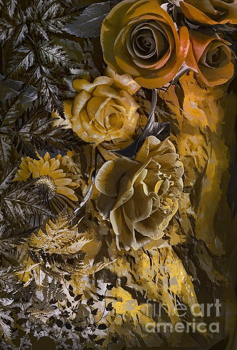 Andrzej Szczerski -  Background with flowers .