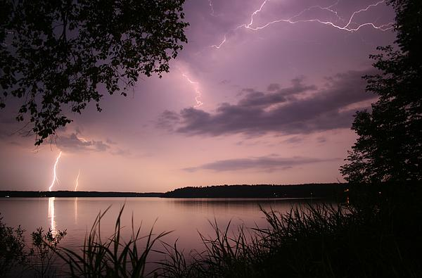 Kevin Sebold - Lightning Over the Lake