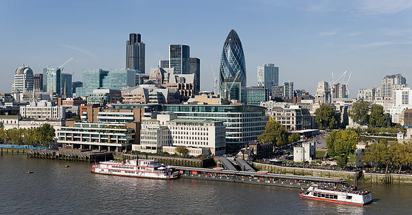 Georgia Fowler - London Skyline