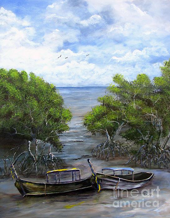 Sharon Burger - Moored Among The Mangroves