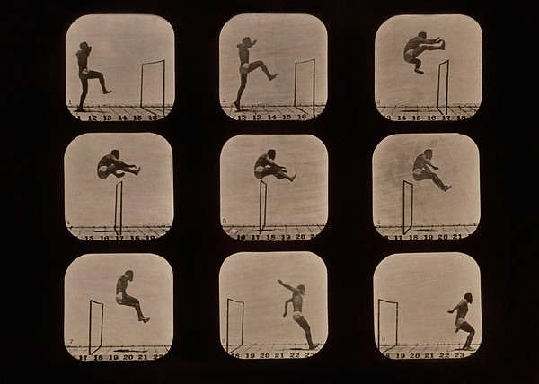 Science Photo Library - Muybridge motion study, 1870s