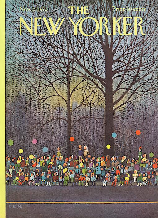 Charles E. Martin - New Yorker November 25th, 1972