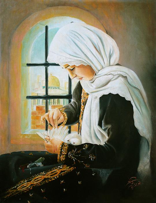 Imad Abu shtayyah - Sewing Peace