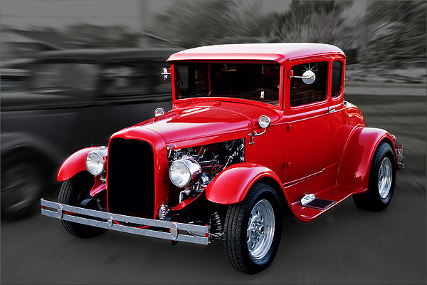 Gene Healy - 1930 Ford Model A Coupe