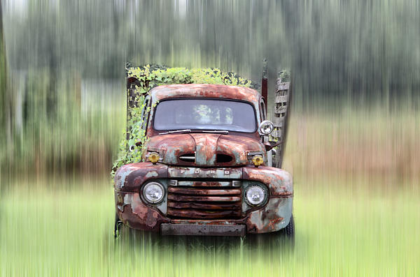 1951 Ford Truck  Found On Road Dead TShirt for Sale by Bill Cannon