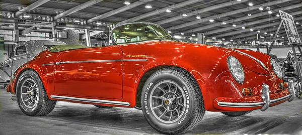 Premium quality Happy Birthday card Unique Porsche Speedster Car