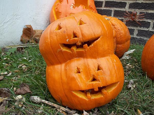 James Leslie - 2 Faced Pumpkin