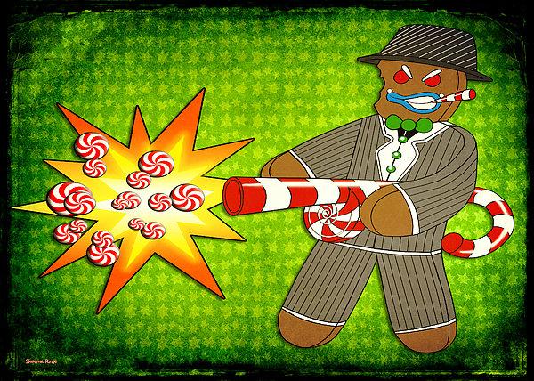 Shawna Rowe - Gingerbread Gangster
