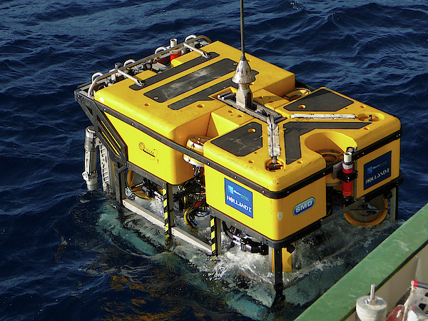 Holland Marine Rov Greeting Card For Sale By B Murton Southampton Oceanography Centre