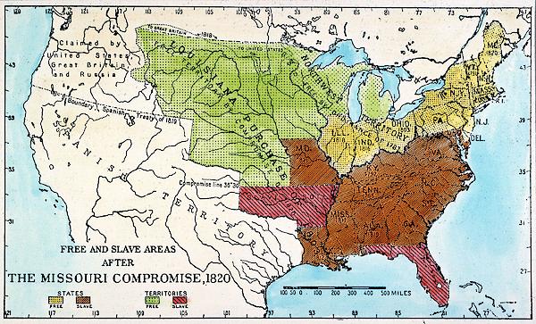 Missouri Compromise, 1820 2 Bath Towel