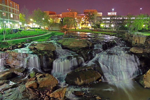 James Wellman - Reedy River Falls Park Greenville South Carolina