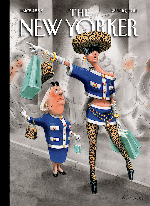 New Yorker September 10th, 2012 by Ian Falconer