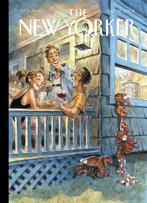 New Yorker July 28th, 2008 by Peter de Seve