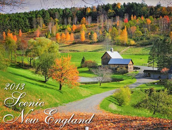 Thomas Schoeller - 2013 New England calendar - Cover Art