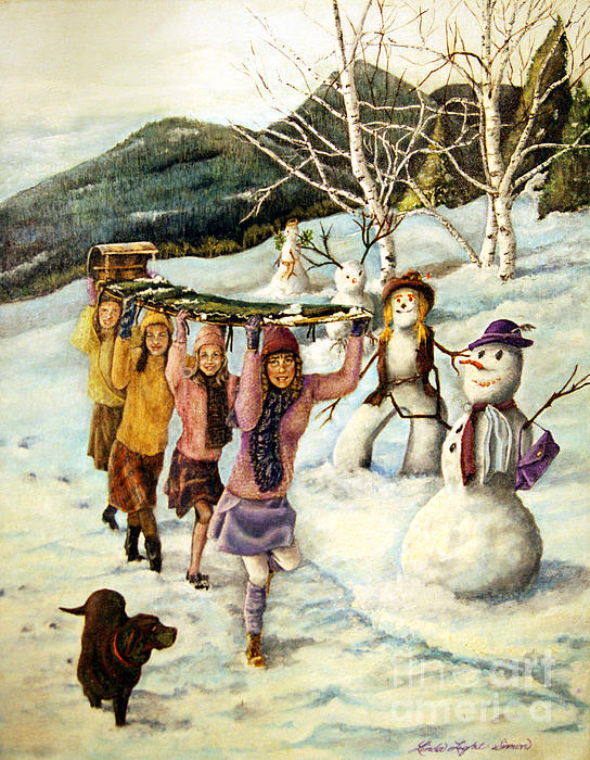 Linda Simon - Frosty Frolic