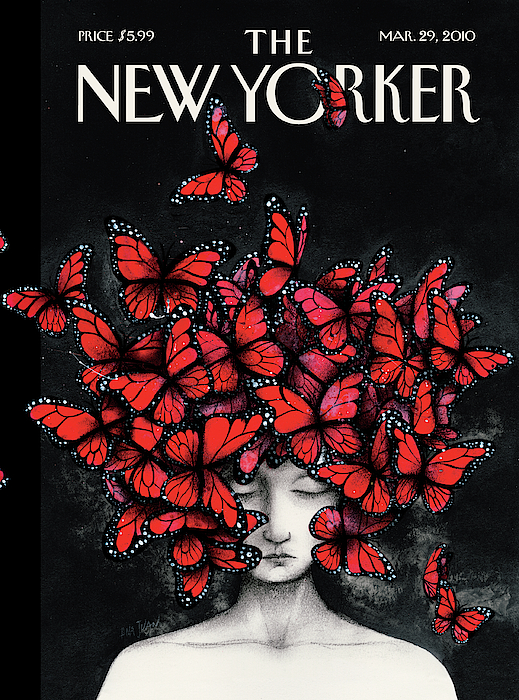 New Yorker March 29th, 2010 by Ana Juan
