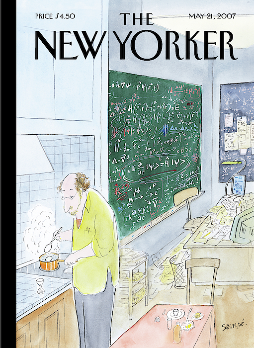 Jean-Jacques Sempe - New Yorker May 21st, 2007
