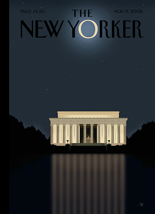 New Yorker November 17th, 2008 by Bob Staake