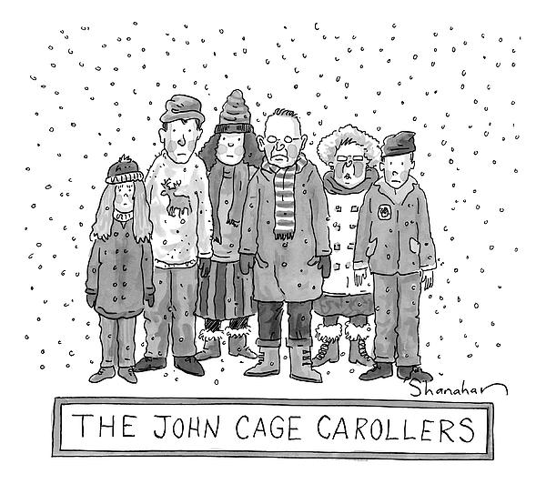 91da4f9bd A Group Of Carolers Stands In The Snow T-Shirt for Sale by Danny ...