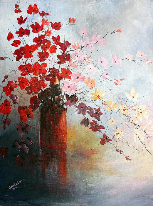 Dorothy Maier - A Red Vase