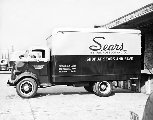 A Sears Roebuck Delivery Truck Carry All Pouch For Sale By Underwood Archives