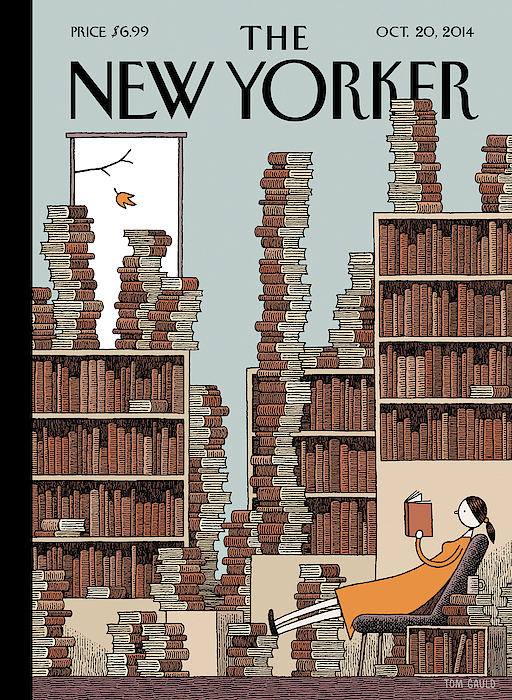 Fall Library by Tom Gauld