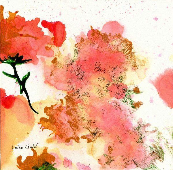 Linda Ginn - Abstract Flowers