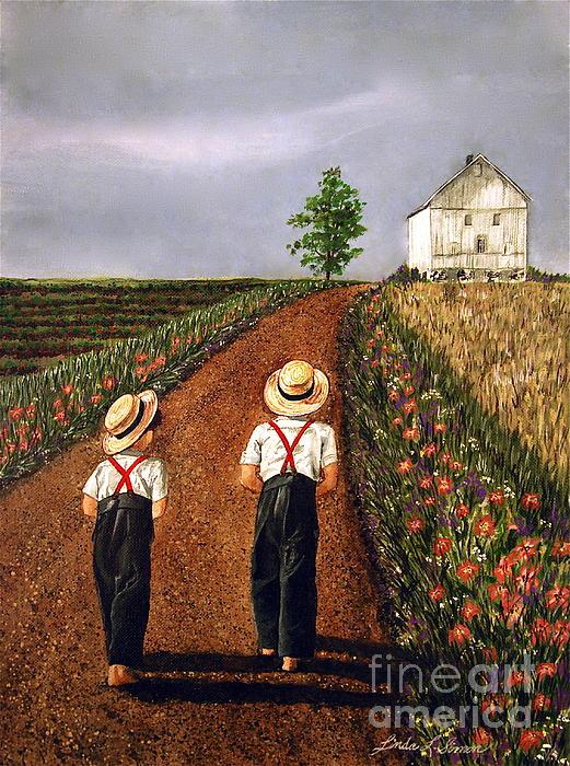 Linda Simon - Amish Road