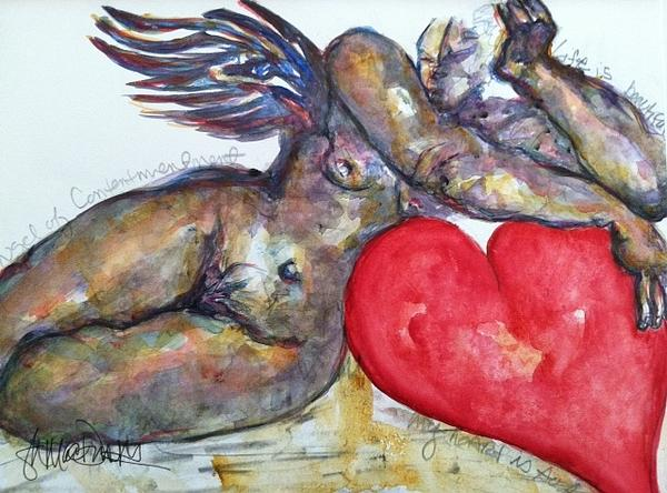 Suzanne Macdonald - Angel of Contentment