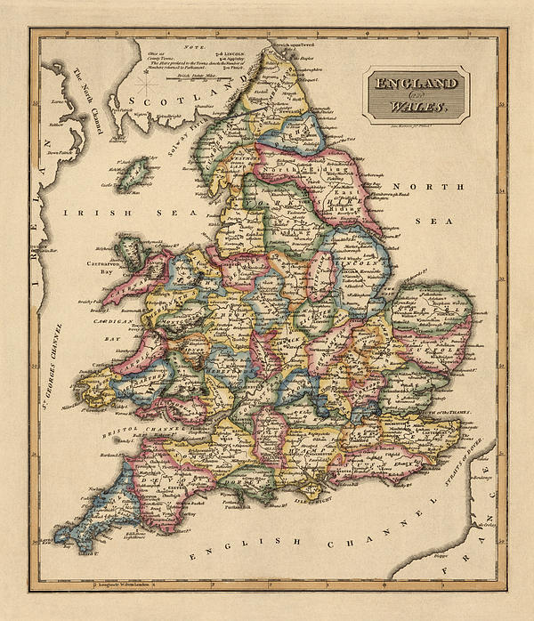 Map Of England Circa 900.Antique Map Of England And Wales By Fielding Lucas Circa 1817 Iphone X Case