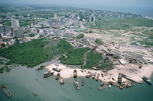 Of beira mozambique port Port of
