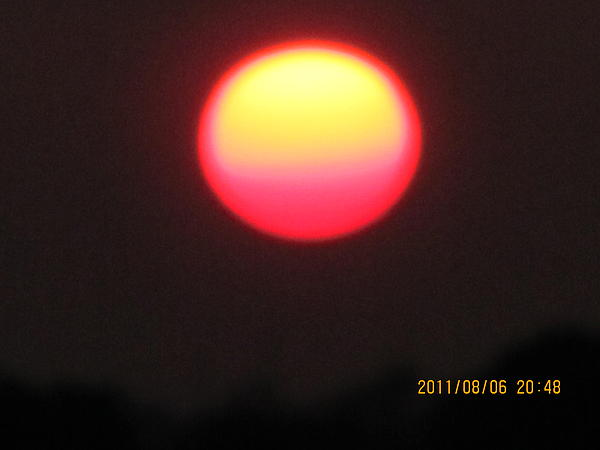 Tina M Wenger - August 6 sunset two