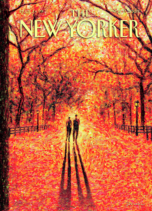 Autumn In Central Park by Eric Drooker