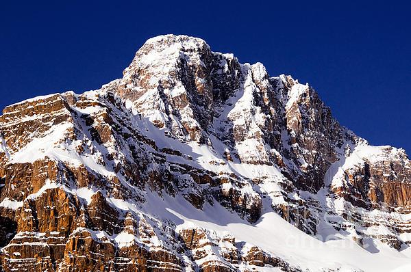 Terry Elniski - Banff - Crowfoot Mountain Up Close